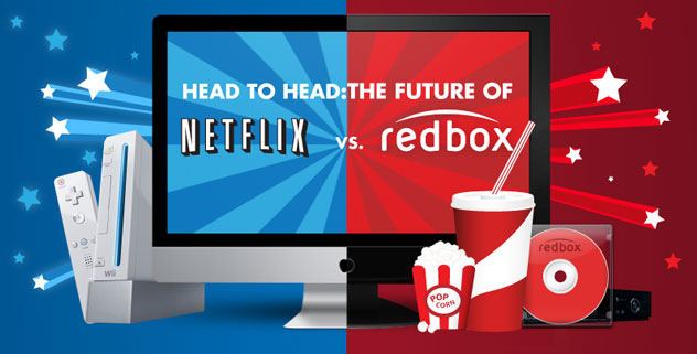 compare netflix and redbox Netflix by a mile and then some either way you want to get entertainment (streaming or dvd) netflix is the more complete option we can take streaming out of the decision here because no one is really going to compare a redbox streaming service (by verizon) to oscar award winning netflix streaming.