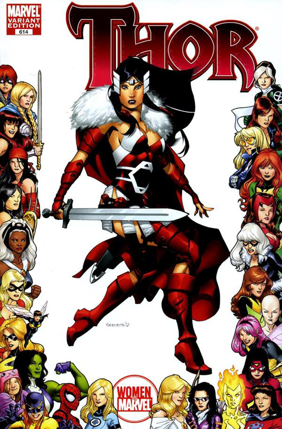 Women of Marvel Frame Variants » MyLatestDistraction