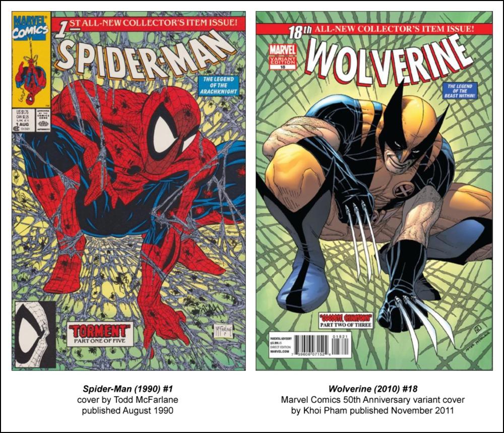spider man 50th anniversary variants